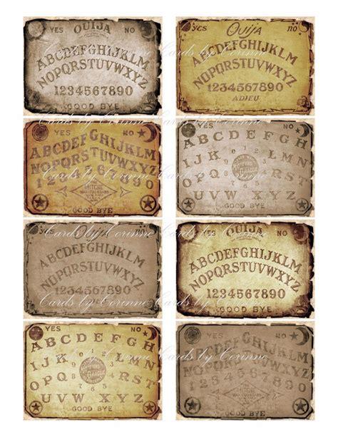 details   ouija board glossy label sticker