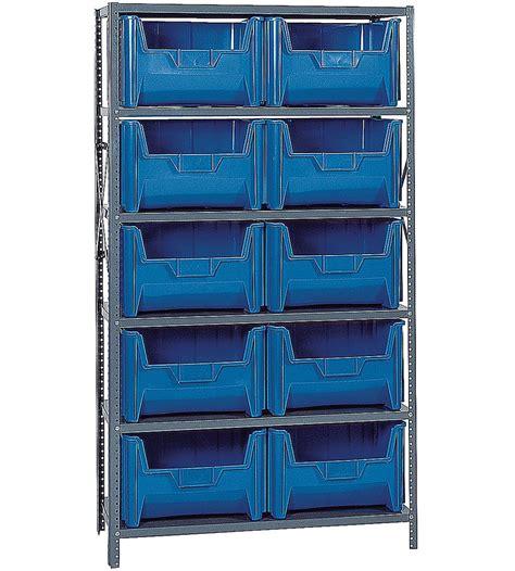 giant bin storage system  storage bin shelving