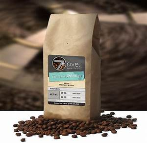 featured label 7th ave roastery coffee bag labels With coffee bag labels