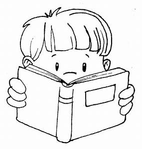 children reading Colouring Pages