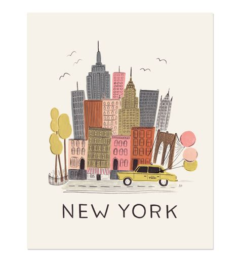 Rifle Paper Co  Rifle Blog  Happy Weekend + New York