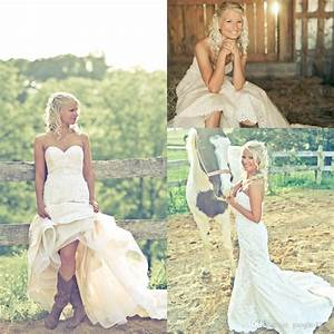 discount bride in cowgirl boots country wedding dresses With wedding dress with boots