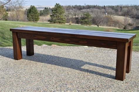 bench seating for patio table kruse s workshop simple