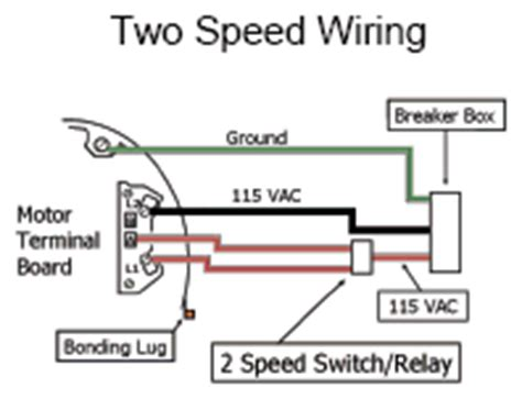Spa Dpdt Relay Wiring Diagram by Wiring For Whisperflo Dual Speed Inyopools