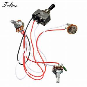 Hot Sale Electric Guitar Wiring Harness Kit 3 Way Toggle