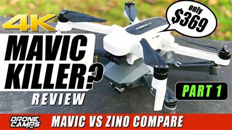 dji mavic killer hubsan zino  drone  compare flights range honest review youtube