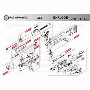 G U0026g Airsoft Gss Rifle Diagram Low Price Of  0