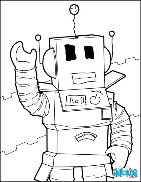 destiny roblox coloring pages  robot   unk