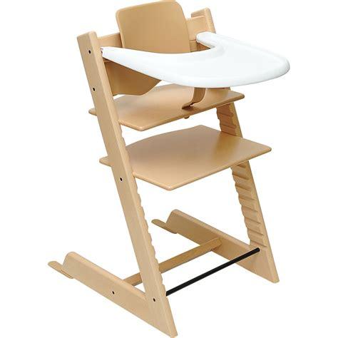 chaise bébé stokke test stokke tripp trapp avec babyset et tablette