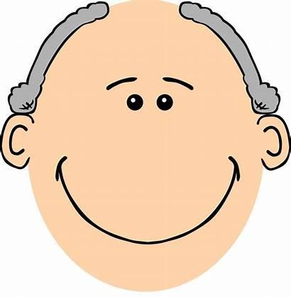 Grandpa Clip Grey Onlinelabels Svg