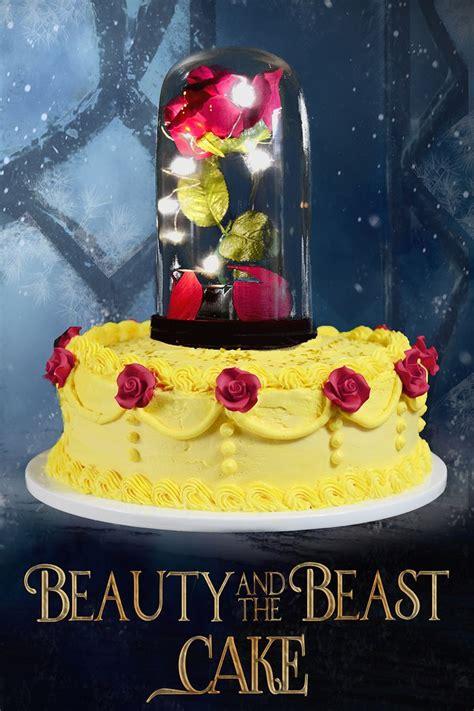 beauty   beast cake tutorial recipe beauty