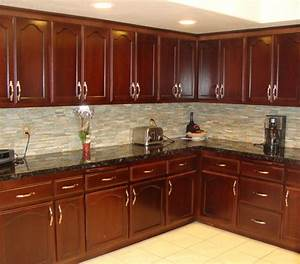 Kitchen cabinet staining traditional kitchen san for Stained kitchen cabinets