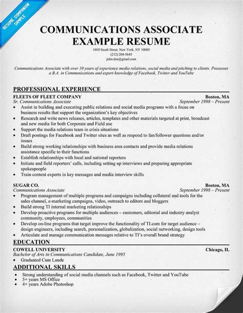 17049 communication skills exles for resume