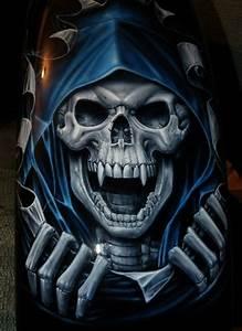 Grim Reaper | skeletons | Pinterest | Artworks, Skull ...