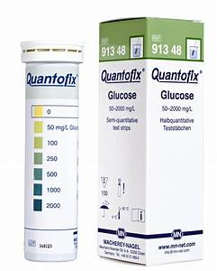 New quantofix test strips for glucose in solution and ...  Glucose