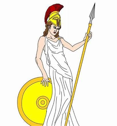 Athena Clipart Goddess Deity Designlooter Drawings Wisdom