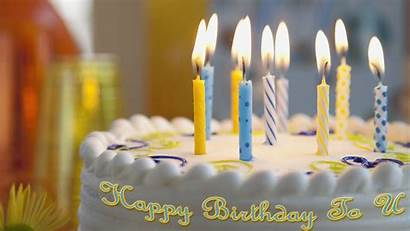 Birthday Wishes Friend Candle Cake Happy Background