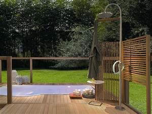 Sichtschutz Dusche Garten : gartendusche sichtschutz ideen f r die outdoor dusche gesucht ~ Bigdaddyawards.com Haus und Dekorationen