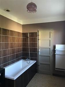 Salle De Bain Rénovation : renovation salle de bain decouvrirdesign ~ Nature-et-papiers.com Idées de Décoration