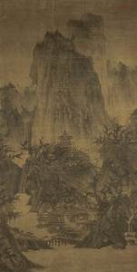 File:Li Cheng - A Solitary Temple Amid Clearing Peaks ...
