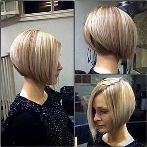 Stacked A Line Bob Hairstyles PoPular Haircuts