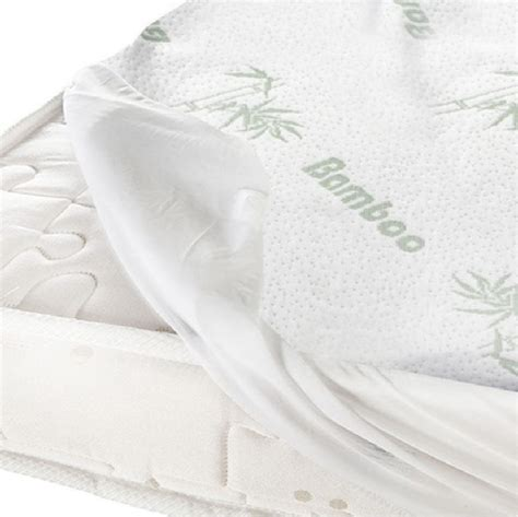 bamboo fully fitted mattress protector