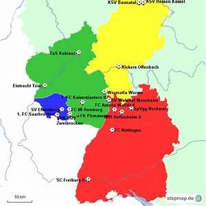 Lageplan Erstellen Kostenlos : stepmap lageplan regionalliga s dwest landkarte f r deutschland ~ Orissabook.com Haus und Dekorationen