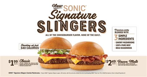Sonic goes systemwide with blended burgers