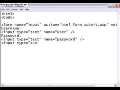 super easy html submit text button youtube