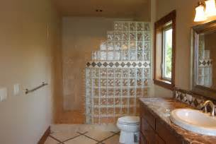 bathroom glass shower ideas seattle glass block glass block shower kits install in 4 easy steps