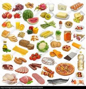 Lebensmittel Auf Rechnung Kaufen : lebensmittel sammlung isoliert lizenzfreies bild 1720219 bildagentur panthermedia ~ Themetempest.com Abrechnung