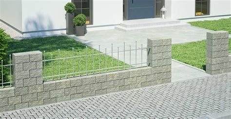 gartenzaun aus stein gartenmauer ganz einfach selber bauen obi gartenplaner