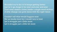 The Neighbourhood Let It Go (lyrics) - YouTube