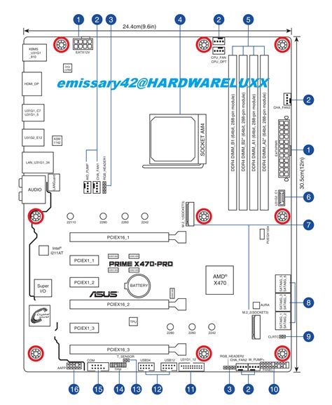 Asus Amd Motherboard Layout Drawings Specs Sheets