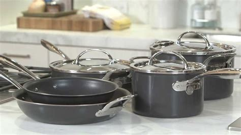 cookware hard anodized sets