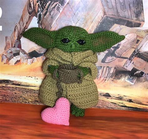 Baby Yoda Mandalorian. Alien baby toy. Amigurumi, baby ...