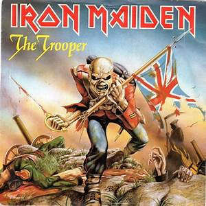 "The Trooper (12"" Album Cover) - Iron Maiden 