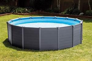 Nouveaute 2016 piscine intex graphite resistante et tendance for Marvelous petite piscine tubulaire rectangulaire 12 une piscine gonflable intex