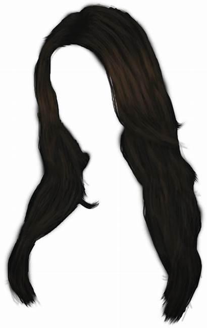 Straight Hair Clipart Transparent Pinclipart