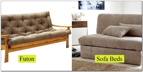 Futon Vs Sofa Bed Bm Furnititure