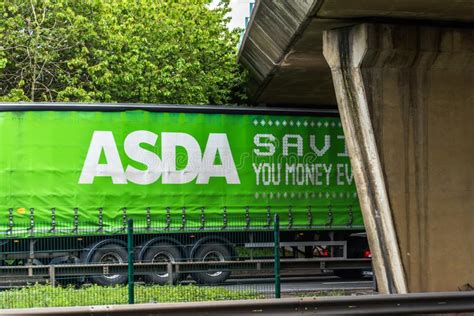Asda Home Delivery Van