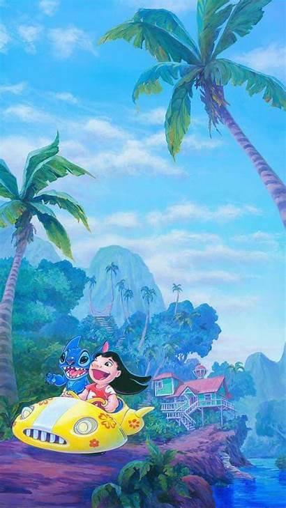 Disney Stitch Wallpapers Iphone Lilo Kawaii Stich