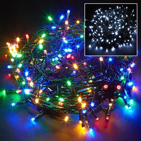 100 200 400 led chaser string fairy lights christmas xmas