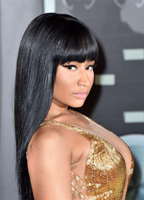 Nicki Minaj Short Hairstyles Fade Haircut