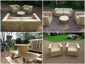 Complete Pallet Garden Set • Pallet Ideas • 1001 Pallets
