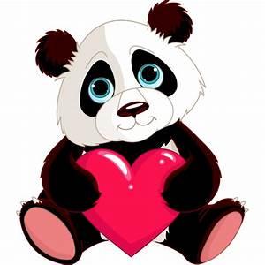 stickers panda coeur stickers animaux pas cher pour With déco chambre bébé pas cher avec papier transparent fleur