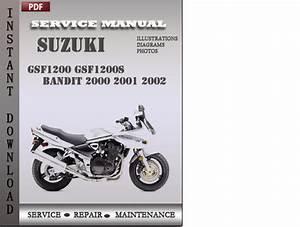 Suzuki Gsf1200 Gsf1200s Bandit 2000 2001 2002 Factory