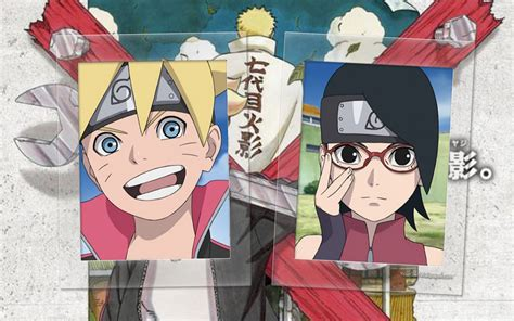 Boruto And Sarada Ninjas Wallpaper By Weissdrum On Deviantart