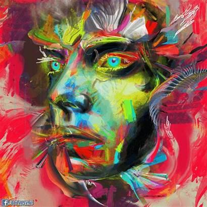 Glitch Face Trippy Rhythm Gifs Effect Nair