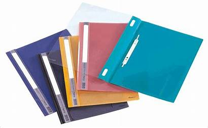 Folders Plastic Brads Pocket Sided Single Printing